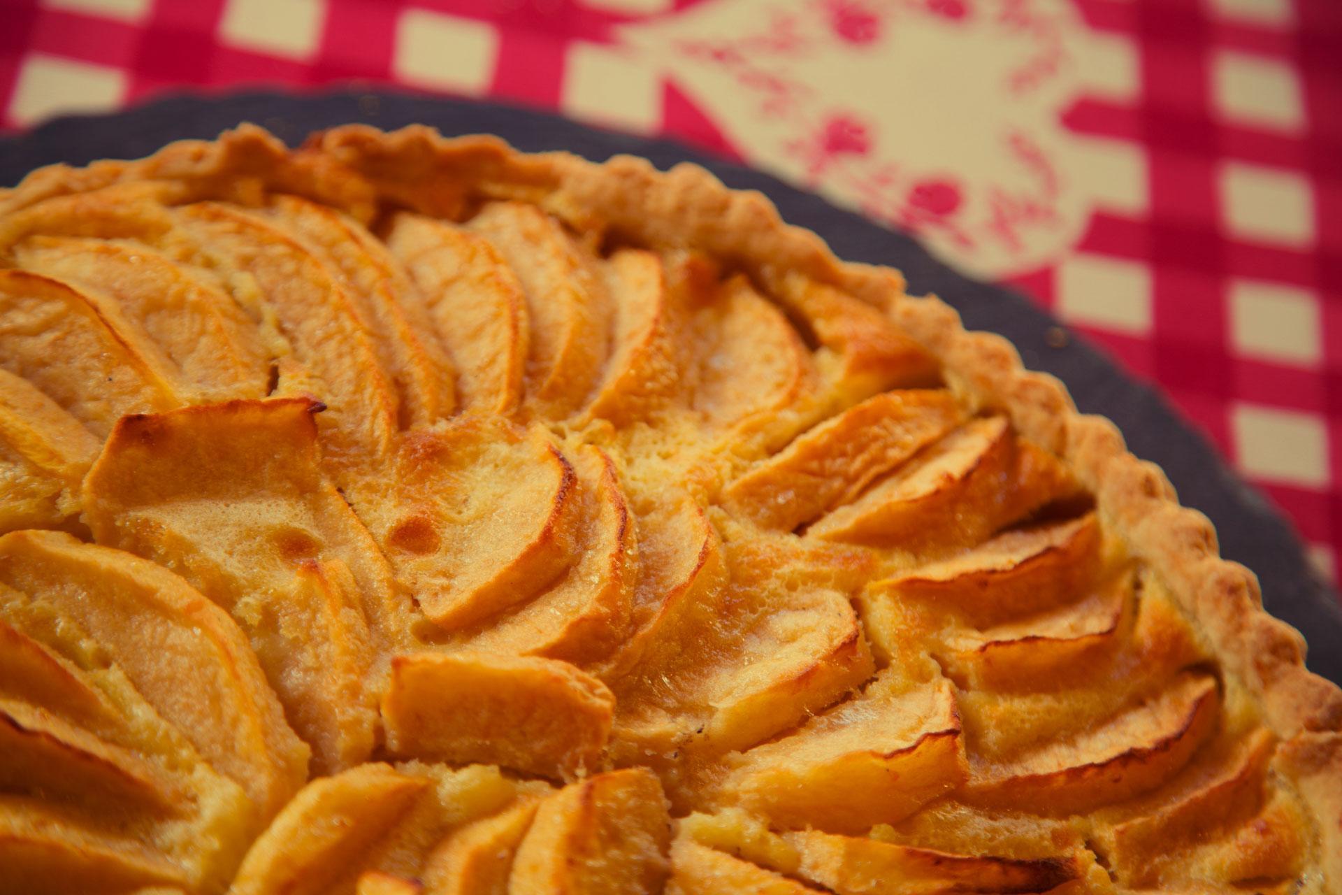 Auberge Alsacienne Auvergne tarte