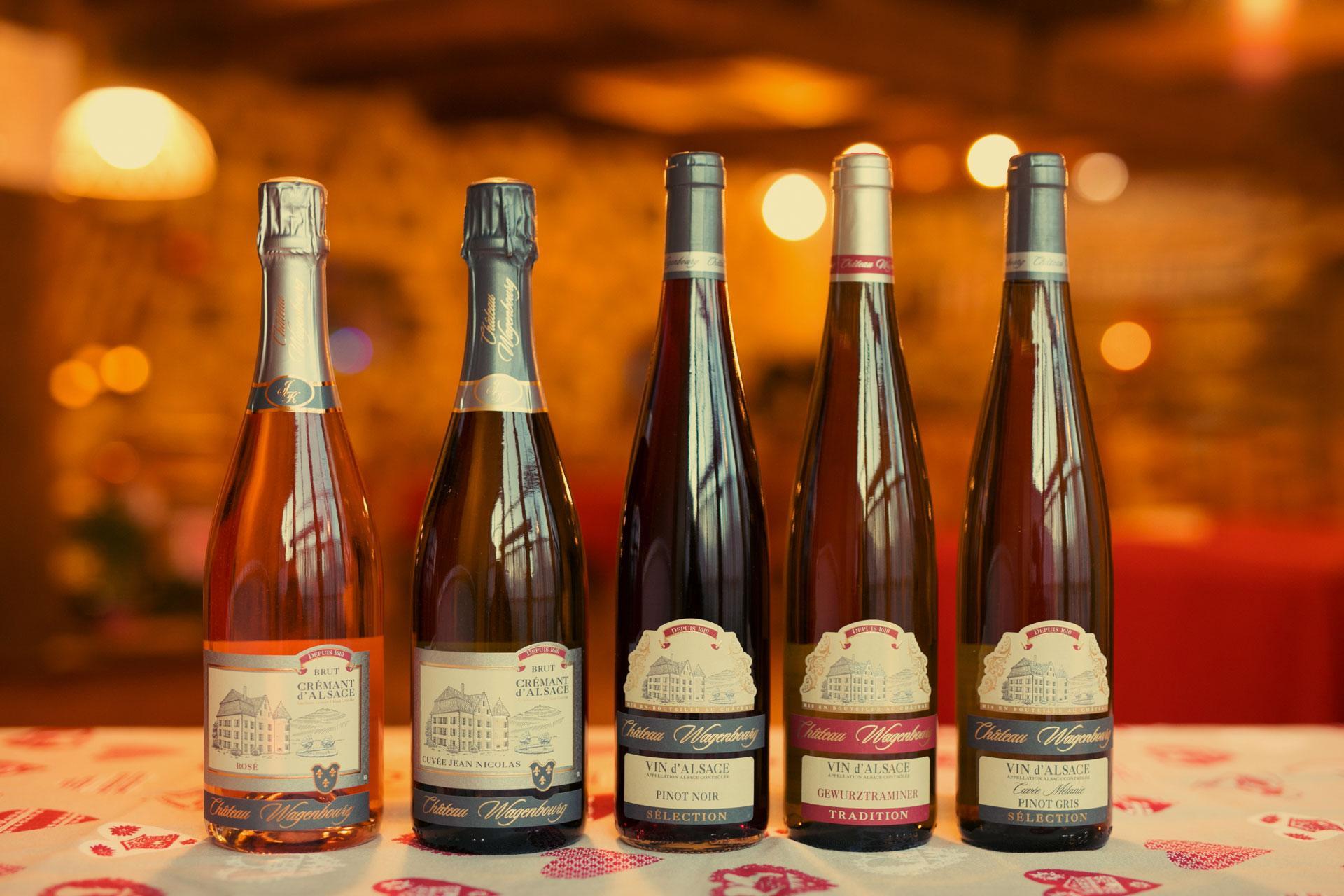 Auberge Alsacienne vin